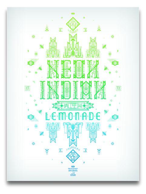 Graphic design inspiration colour