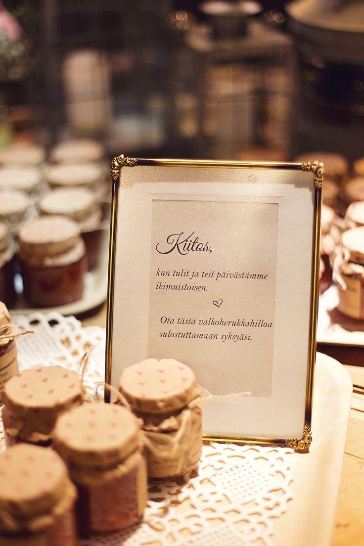 Wedding, häät 2016, kiitoslahja, kuva: Caro K.