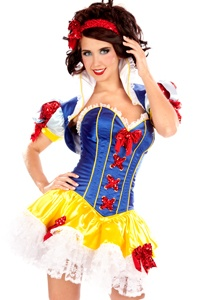 SEXY SNOW WHITE- cute costume for pinup photos.