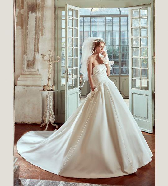 Vestidos de novia palabra de honor 2017: ¡El diseño más deseado! Image: 18