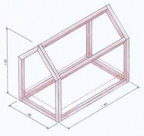 Sabe a cama que parece uma armação de casinha de boneca? A gente te ensina a construir uma.