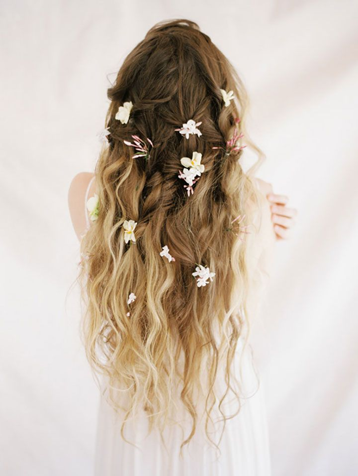 Image result for flowers in hair