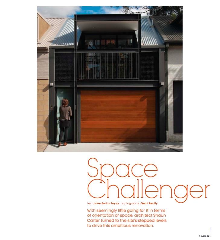 space challenger - photography: Geoff Beatty, architect: carterwilliamson