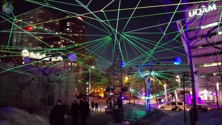 Illuminart 2018 at Montreal en Lumiere