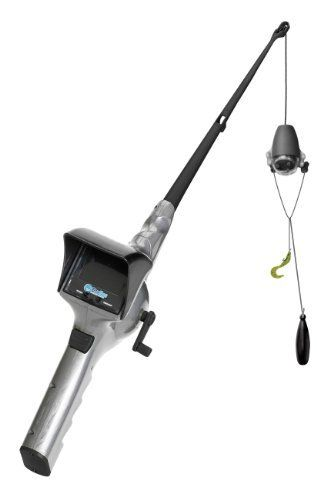 Fuzion Fish Eyes Rod and Reel by Fuzion. $39.99. Amazon.com                   A color LCD screen transmits footage from an underwater camera, letting you spot -- and catch -- fish attracted by an included bait basket.   The FishEyes Rod and Reel, with a built-in underwater video camera, allows you to see exactly what's happening underwater, in real time. Ideal for locating and catching fish -- or simply having fun exploring the underwater world, the set includes one FishEye...