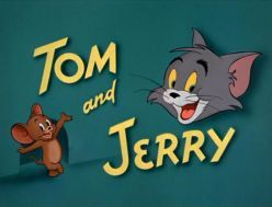 Tom & Jerry While Tom & Jerry are two characters, they are best known as a duo. The Tom and Jerry cartoons go back to the 1940s when they were produced as animated shorts. They finally showed up on television in 1960. Several series' were produced until 1967.