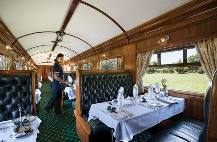 10% off! Experience the sophisticated Rovos Rail heading to Victoria Falls. Along the way, enjoy outstanding service, dining in luxury, stunning views of the grasslands and open plains of Africa, & an exciting game drive in the Hwange National Park.
