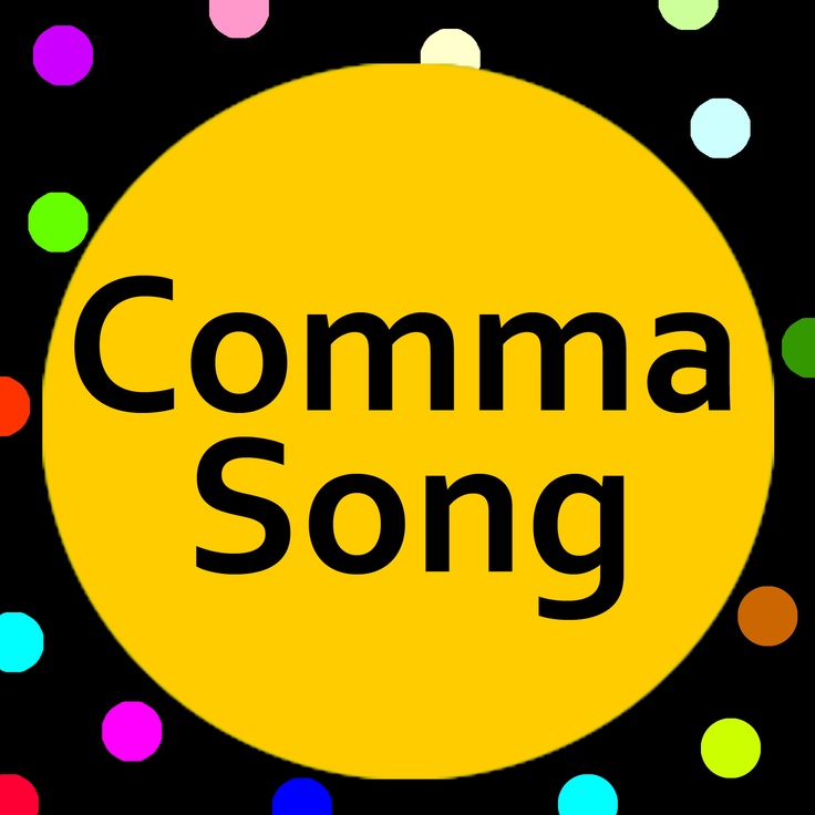 A punctuation song (with lyrics) that's great for introducing Commas to young learners.