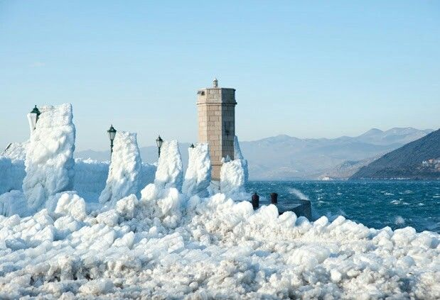 Winter in Senj Croatia