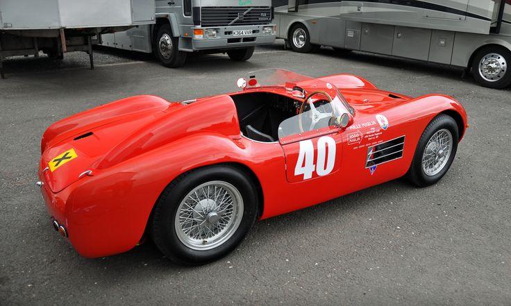 1956 Maserati 150S Barchetta Mille Miglia Factory Car No.40 - 2012 Donington Historic Festival.
