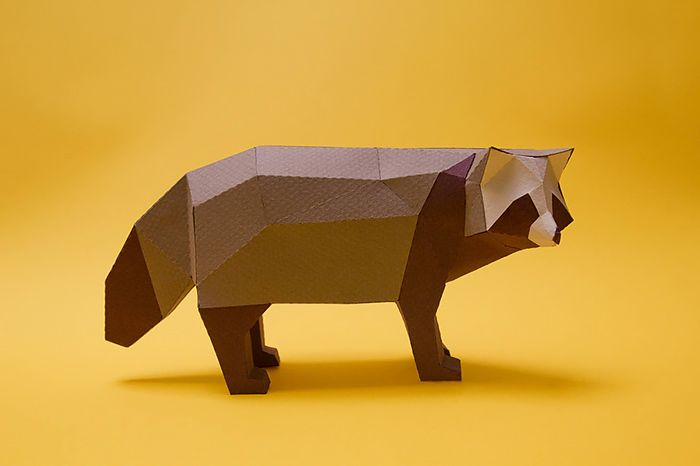 Geometric Papercraft Animals by Guardabosques | Inspiration Grid | Design Inspiration