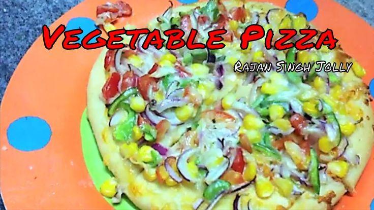Vegetable Pizza Recipe In Hindi | Veg Pizza Recipe | Veggie Pizza Recipe | Vegetable Pizza Recipe