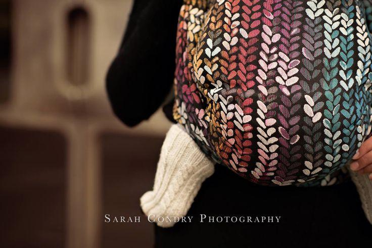 Woven Wings Knitwear Winter Rainbow Wrap (merino) Image