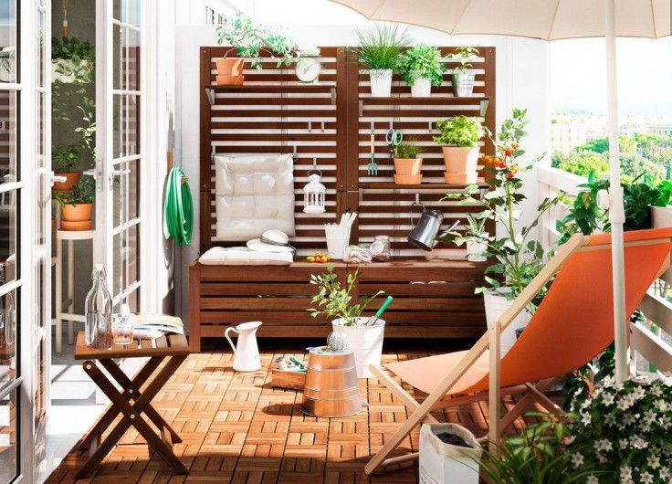 20 Idees Pour Amenager Son Balcon Avec Ikea Amenager Balcon Decoration Petit Balcon Idee Deco Balcon