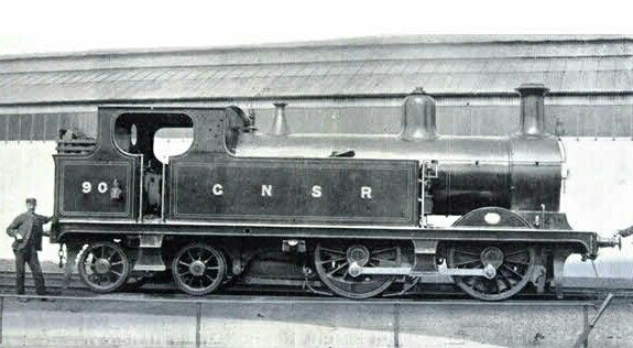 GNSR Johnson G10 class  0-4-4T