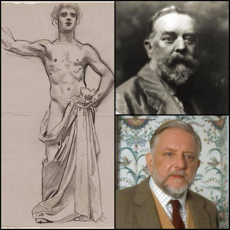 """Bartholdi told everyone you are his MOTHER!?"" – a scene from LAERTES, THE GIAOUR sequel. I think Simon Russell Beale is a reincarnation of John Singer Sargent."