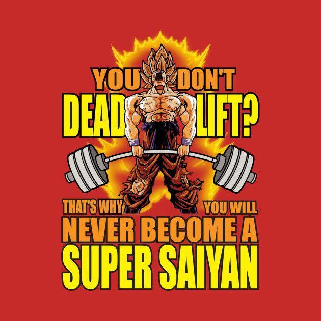 Eat Train Sleep T-Shirt Goku Super Saiyan DBZ Dragon Ball Z Top Bodybuilding Gym