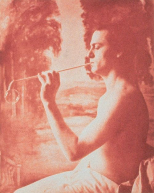 A Soap Bubble, 1915 , 24 x 30 inches, gum bichromate print, 1991
