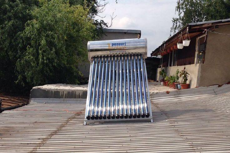 Panou solar apa calda INOX presurizat 150 litri