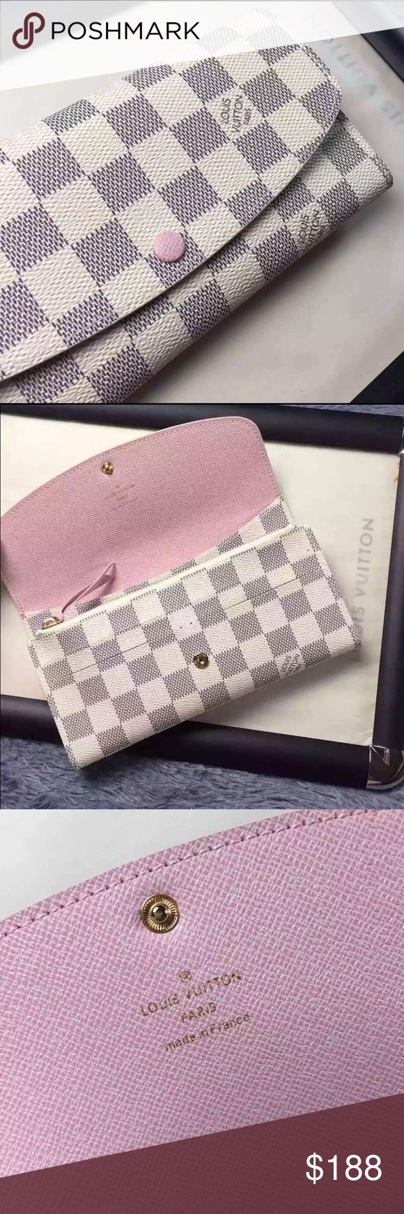 *NFS* Just sharing. Emilie wallet! My Emilie wallet in DA with Rose Ballerine interior. If interested, please comment. Price listed is through ♏️. Louis Vuitton Bags Wallets