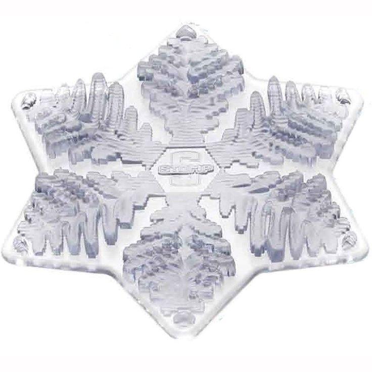 Stomp design - Snowflake Snowboard Stomp Pad /Mat 3-D Series board pad non-slip