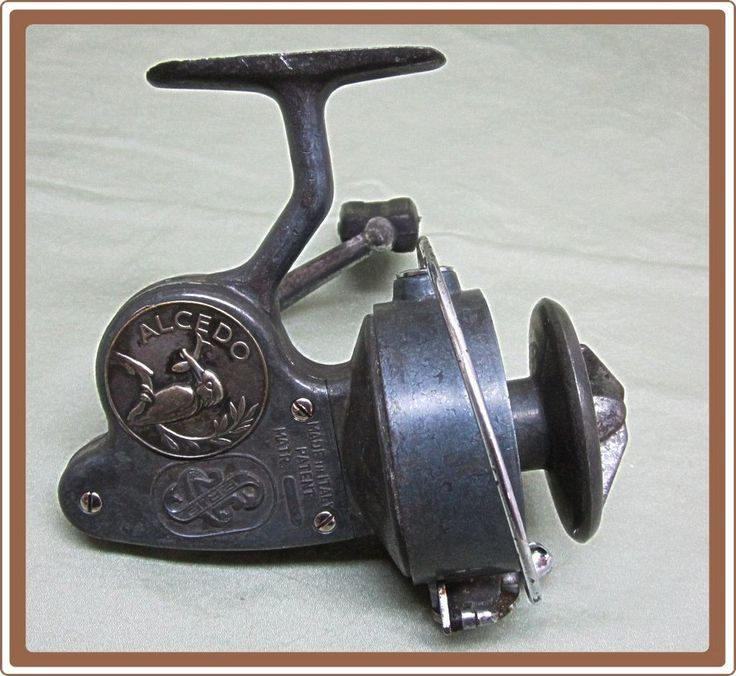 14 best images about vintage fishing reels on pinterest for Antique fishing reels