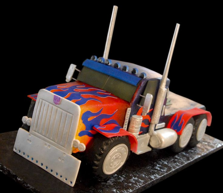Optimus PrimeCake Design, Cake 2014, Google Search, Cake Ideas, Prime Cake, Optimus Prime Birthday Cake, Calavera Cakery, Comments, Cades