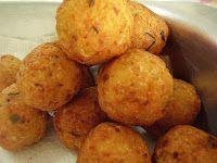 Cantinho Vegetariano: Bolinhas de Grão-de-Bico (vegana)