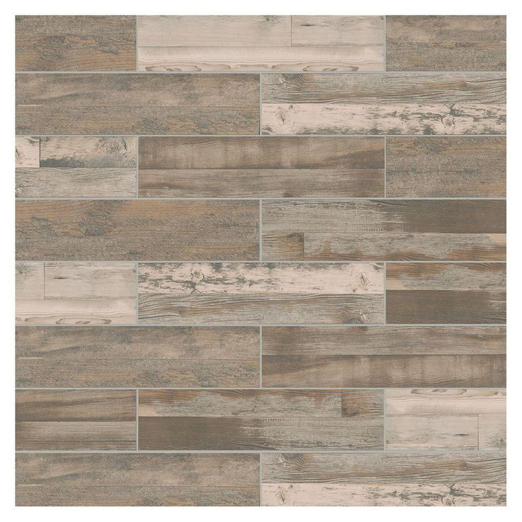 MARAZZI Montagna Wood Weathered Gray 6 In. X 24 In. Porcelain Floor And  Wall Tile (14.53 Sq. Ft. / Case)