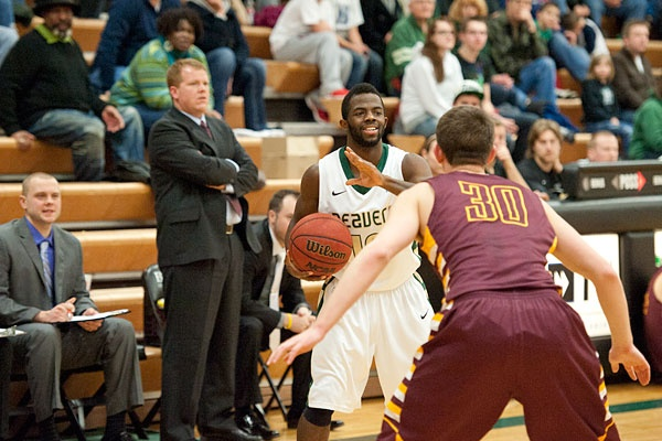 Check out our men's basketball photo gallery from Friday's (2/22/13) victory over Minnesota Duluth at BSU Gymnasium. http://www.bsubeavers.com/mbasketball/photos/2012-13/372/ Jason Edwards and the BSU men's basketball team defeated former head coach Matt Bowen and UMD.