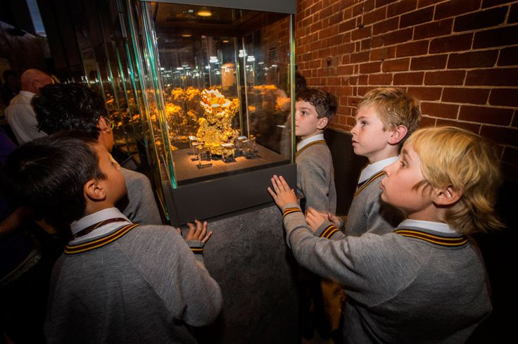 See some of the world's largest natural gold nuggets at The Perth Mint Exhibition