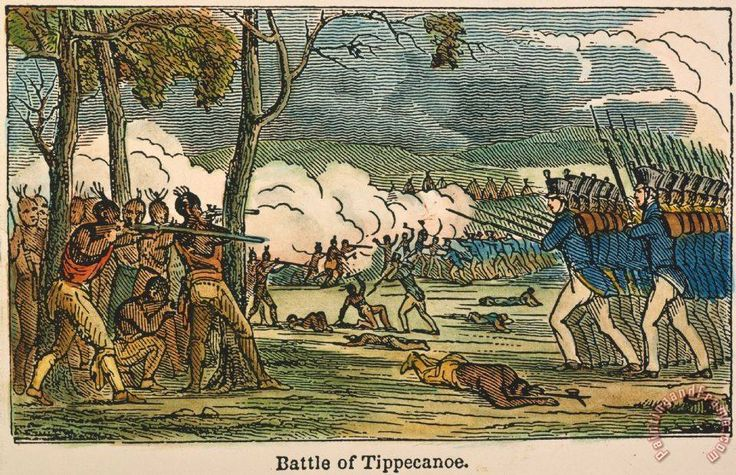 Others Battle Of Tippecanoe, 1811 painting - Battle Of Tippecanoe ...