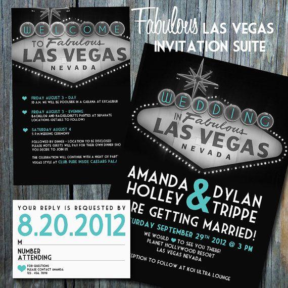 Fabulous Las Vegas Invitation Suite By Meanmaharani On Etsy 3000