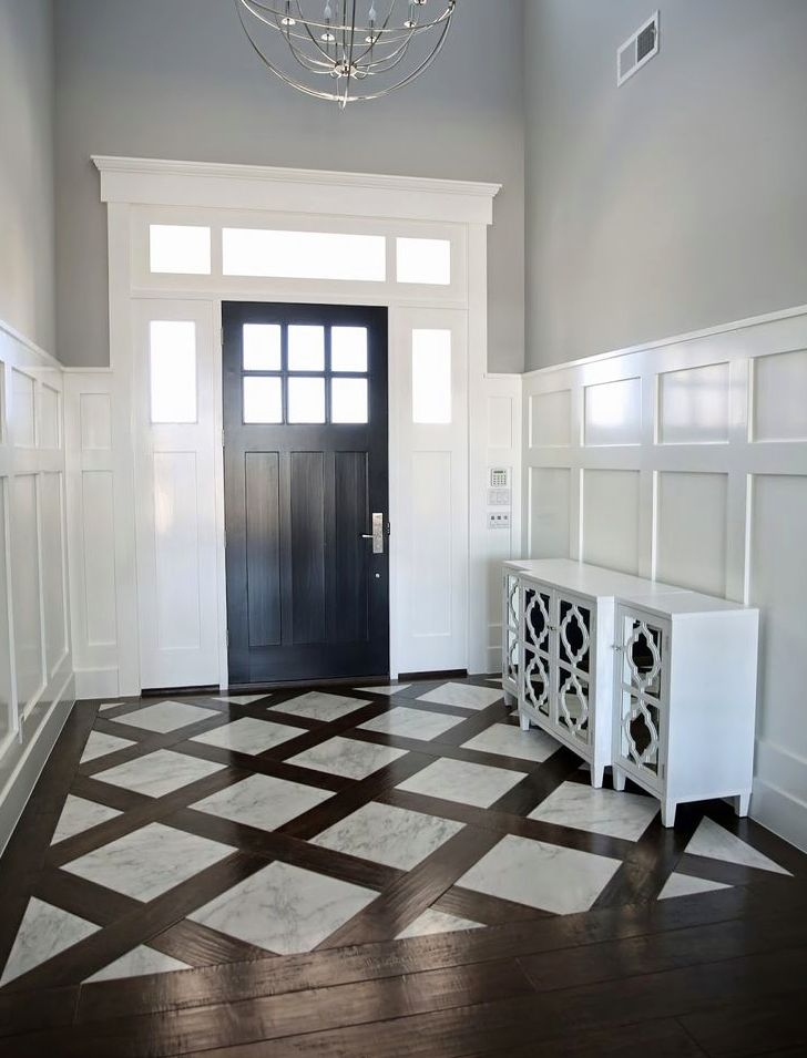 Foyer Flooring Options : Best images about trim millwork moulding