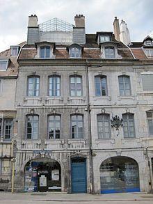 Besançon - Doubs - maison natale de Victor Hugo