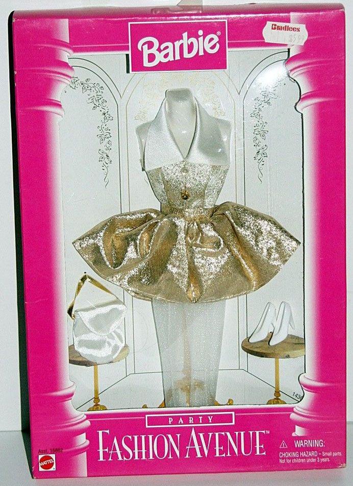 Mattel Barbie Fashion Avenue Clothes