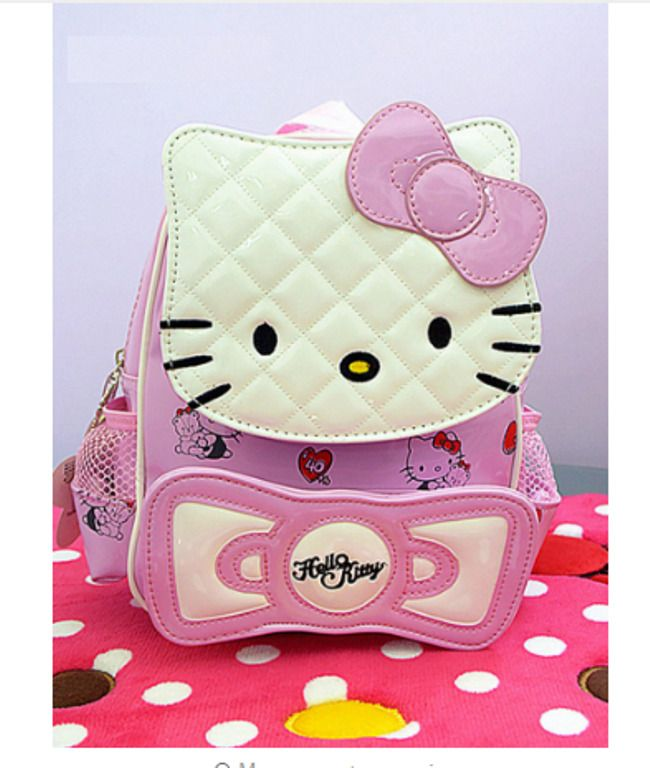 e7023d9e3e3b New Hello kitty bag Handbag Shoulder Bag Purse + Small Coin bag Women 2018  Girls  Unbranded