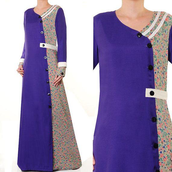 2640 Fashion Casual Shirt Dress Ladies Islamic Abaya by MissMode21, $30.00