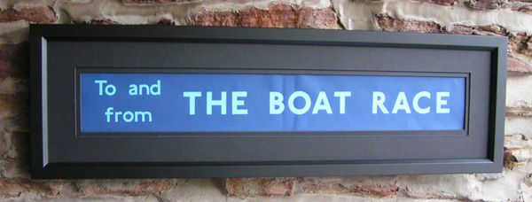 The Boat Race - Medium