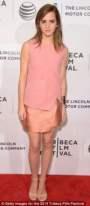 Paris-born actress: Emma Watson has made a very public transition from child star to femin...