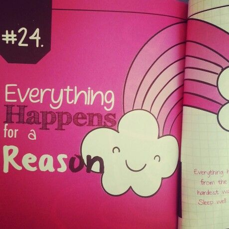 Everything happens for a reason. 31 Guys 31 Lessons.