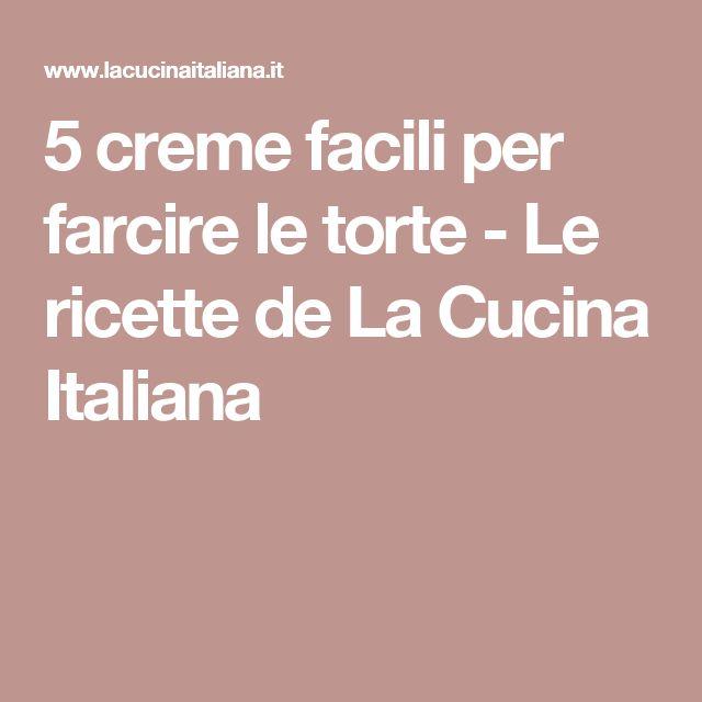 5 creme facili per farcire le torte - Le ricette de La Cucina Italiana