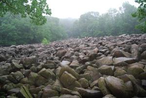 Rocking Rocks Park in Bucks County