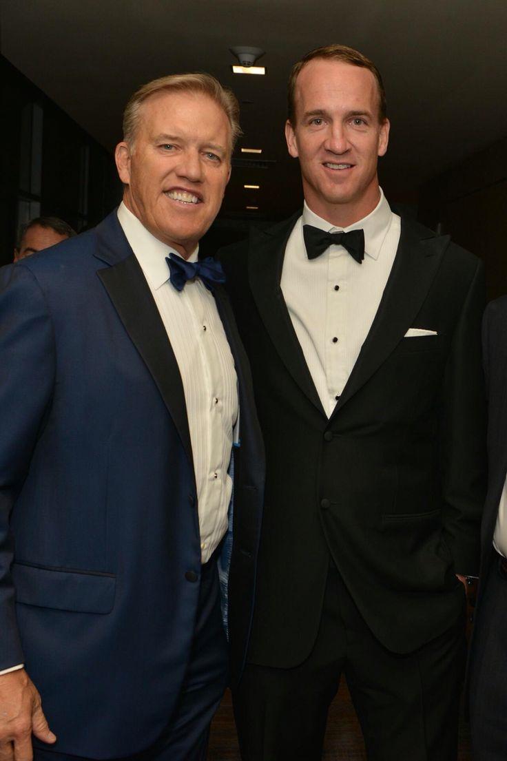 Peyton Manning and John Elway                                                                                                                                                                                 More