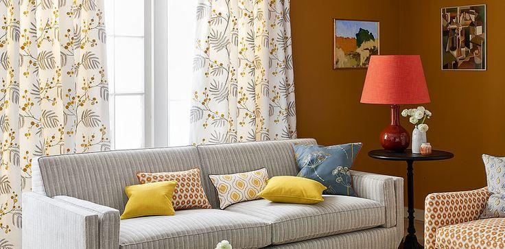 Jane Churchill, design Inglewood. Se alle brands her: http://fischer-danmark.dk/produkter/gardiner/