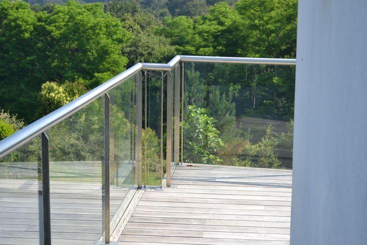 rambardes extérieures en verre | Aménagement extérieur | Pinterest ...