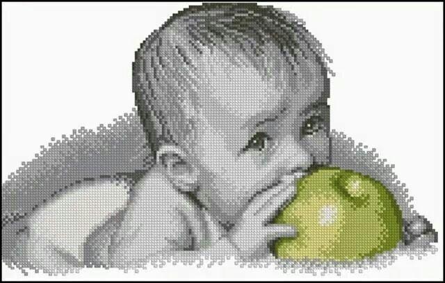 Bebe manzana