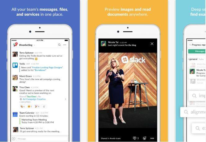 Slack App   #mobileapps