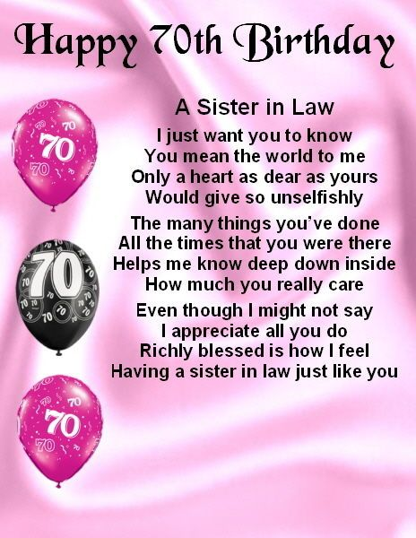 Sister In Law Poems: 34 Best Sister In Law Gifts Images On Pinterest