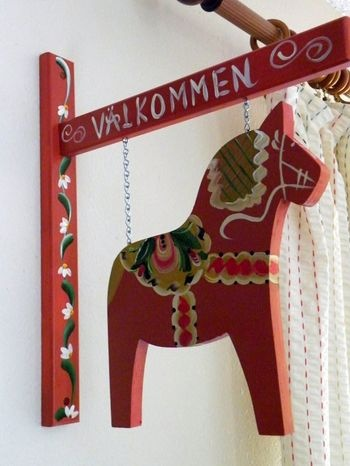 need this for a porch - Dala horse, Sweden